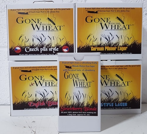 Gone with the Wheat Gluten Free Beer Kits