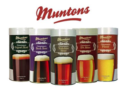 Muntons 1.8kg / 1.5kg Home Brew Beer Kits