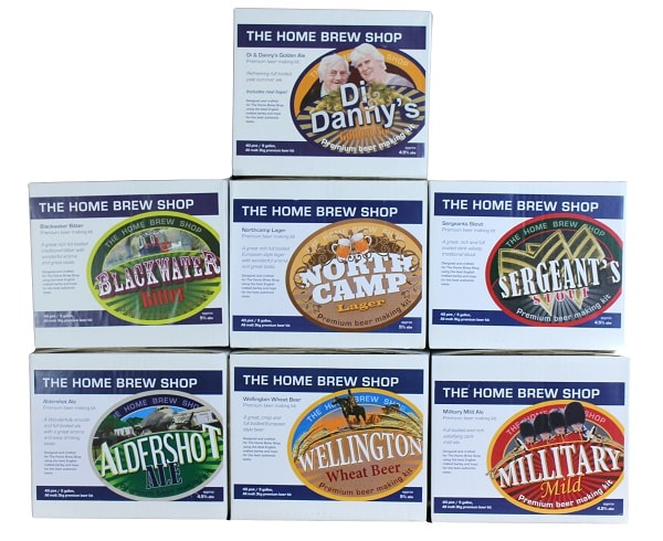 The Home Brew Shop Beer Kits