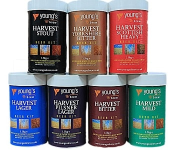 Harvest Beers by Youngs Home Brew Beer Kit