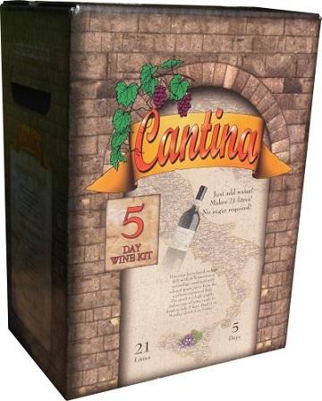 Cantina Wine Making Kits 30 Bottle
